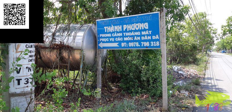 hồ câu cá giải trí Thành Phương, Nhà Bè